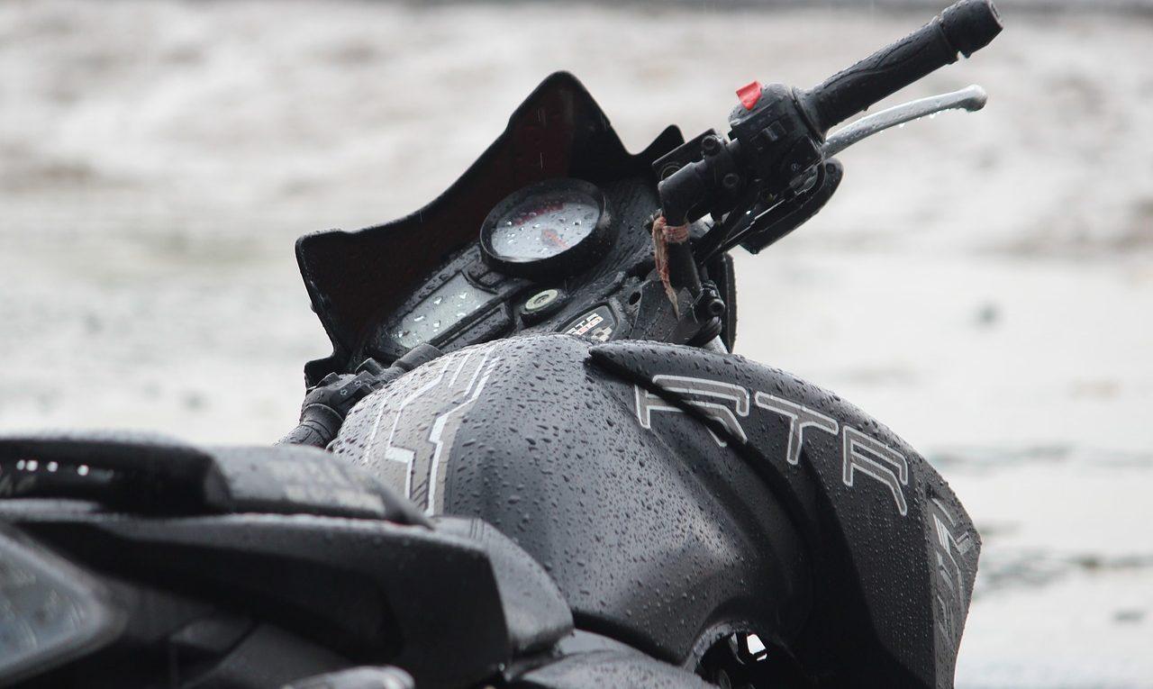 moto l'hiver