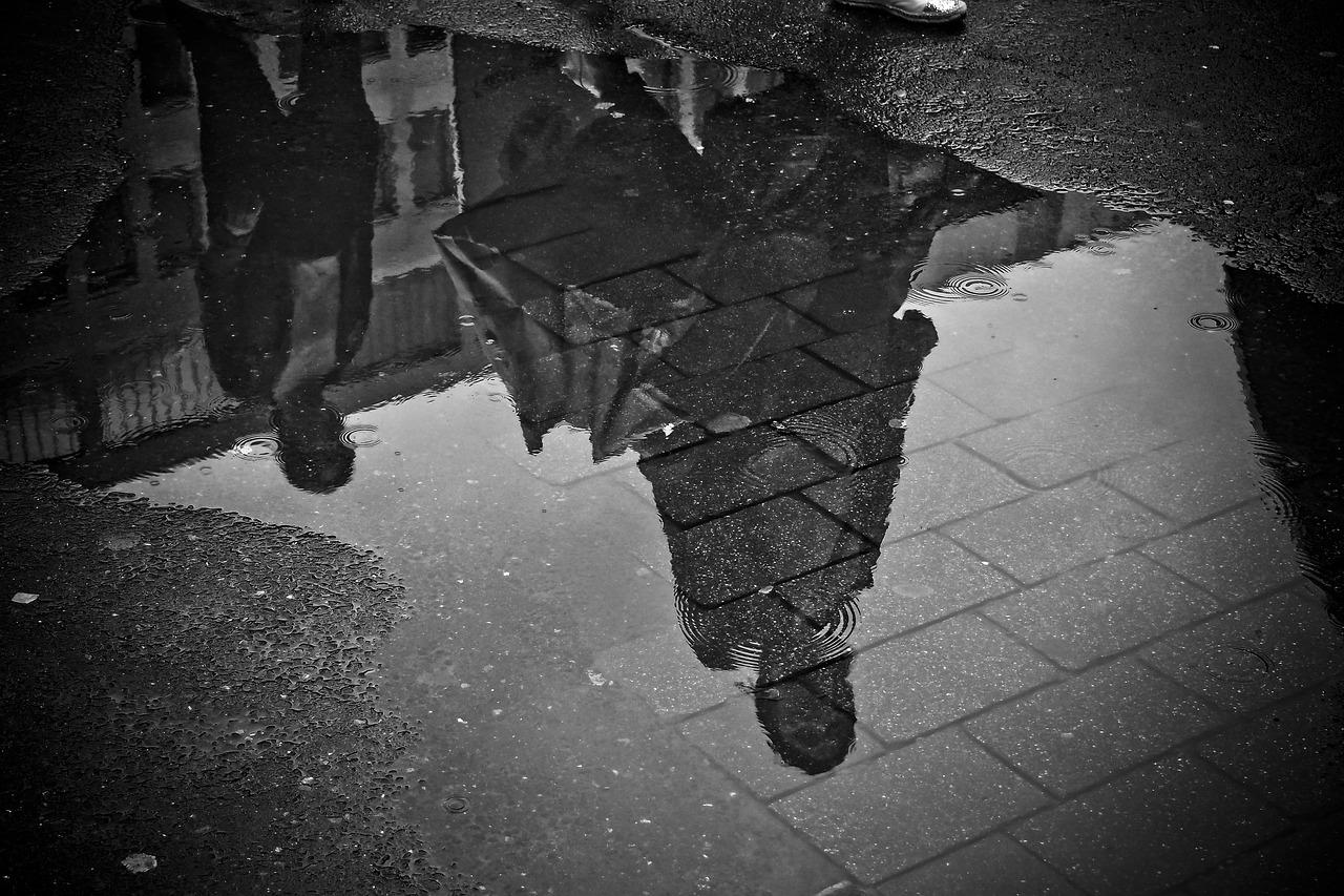pluie en ville